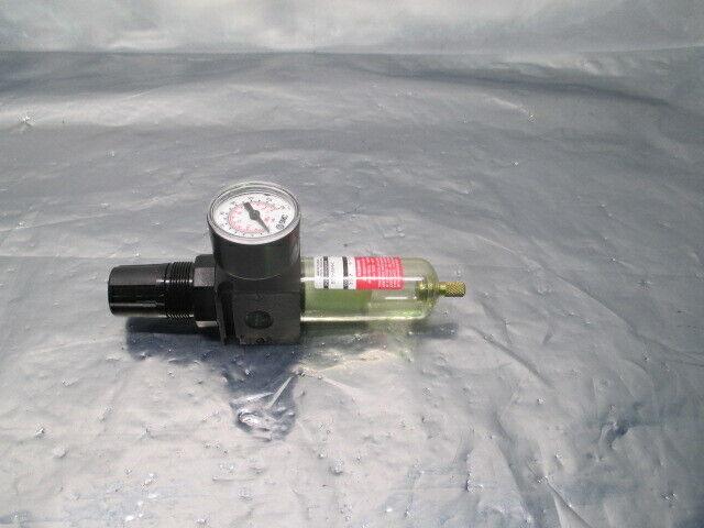 Watts Fluidair B35-02AHC Pneumatic Filter Regulator w/ SMC Gauge, 100104