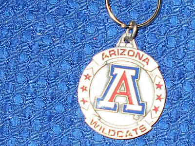 Arizona Wildcats  Key Ring Keychain  NCAA BASEBALL VINTAGE 1995 COLLECTABLE Arizona Wildcats Wildcat Ring
