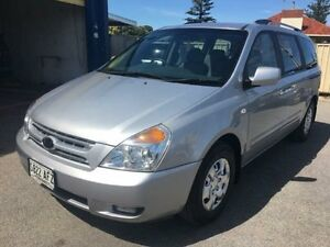 2010 Kia Grand Carnival VQ EXE Clear Silver 5 Speed Automatic Wagon Christies Beach Morphett Vale Area Preview