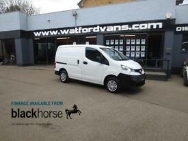 2012 Nissan NV200 SE 1.5DCi E/Pack Twin SLD Diesel white Manual