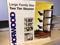 Horwood two tier steamer set
