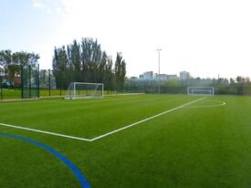 Play 8 a side friendly/casual football games in Leyton throughout the week.