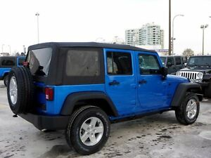 Soft top from 2015 Jeep Wrangler 4 door
