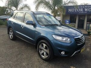 2011 Hyundai Santa Fe Highlander Blue Automatic Wagon Springwood Blue Mountains Preview