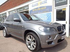 BMW X5 3.0d auto 2007 M Sport S/H £8165 added extras inc Nav etc 7 Seats p/x