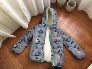 Minnie Mouse Puffer Jacket size medium