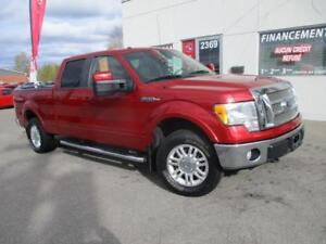 2010 Ford F-150 Lariat /4X4 / CUIR / GPS / IMPECCABLE