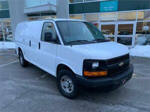 2013 CHEVROLET EXPRESS 2500 NO ACCIDENTS DIVIDER CARGO SAVANA