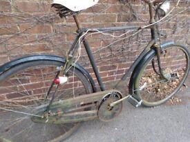 Raleigh vintage bike for restoration