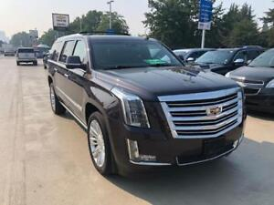 2015 Cadillac Escalade ESV Platinum (ONLY 61,000 KMS)