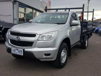 2013 Holden Colorado Silver Manual Cab Chassis
