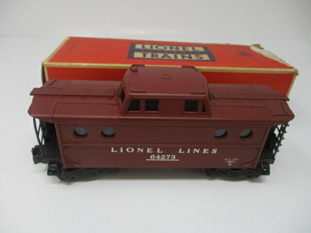 Lionel Postwar #6427-1  Porthole Lighted Caboose 64273  w/ Original Box
