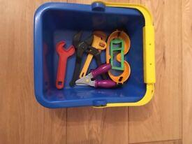 Bob the Builder tool set.