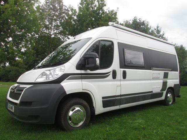 2011 CITREON RELAY 3 BERTH REAR FIXED BED CAMPERVAN MOTORHOME FOR SALE