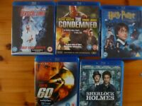 Blurays Good condition like new no scuffs, scratches, 3.50 pounds each,or 50.00 pounds for the lot.