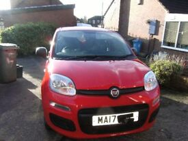 2017 Fiat Panda 1.2pop, unmarked sparkling red,1 lady owner, just had full service.