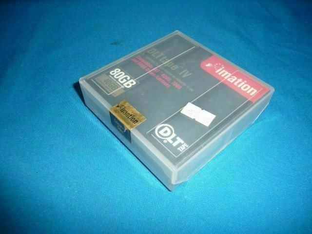 Lot 3pcs Imation DLT TAPE IV  80GB/40GB Cartridge Tape C