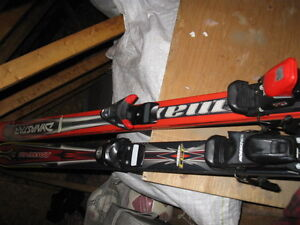 skis and boots 100each per
