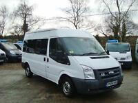 2008 FORD TRANSIT 2.2 TDCi Duratorq 300 M Bus 4dr 12 Seat, MWB NO VAT