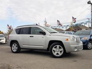 2008 Jeep Compass Sport/AUTO/4X4/4CYL/CRUISE/MAGS/ELECT/BAS KM!!