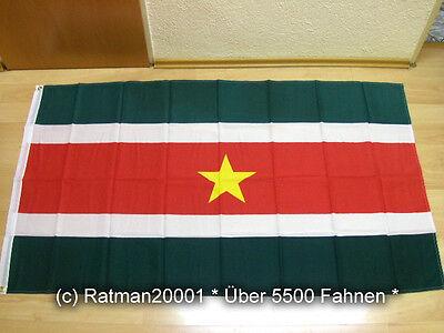 Fahnen Flagge Surinam Neu - 90 x 150 cm