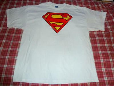 - NWOT Men XXL/2XL/2TG/2XG White Superman T Shirt 48