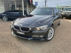 2014 BMW 3 Series F30 MY0813 328i Luxury Line Black 8 Speed Sports Automatic Sedan Sylvania Sutherland Area Preview