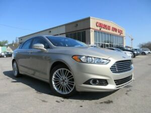 2016 Ford Fusion SE AWD, NAV, ROOF, LEATHER, 36K!