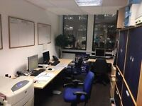 Desk available in shared office