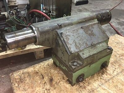 Okuma Hydraulic Tailstock off of LB-15 Turning Center, #5 MT, Used