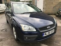 2006 Ford Focus diesel estate, starts and drives well, MOT until 9th May, car located in Gravesend K
