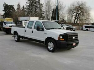 2006 FORD F-250 SUPER DUTY XL CREW CAB LONG BOX 2WD 3/4 TON