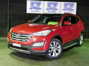 2014 Hyundai Santa Fe DM2 MY15 Highlander Red 6 Speed Sports Automatic Wagon Albion Park Rail Shellharbour Area Preview