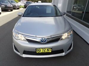 2012 Toyota Camry AVV50R Hybrid H Silver Continuous Variable Sedan Port Macquarie Port Macquarie City Preview