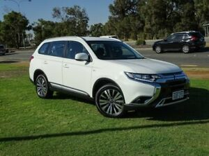 2018 Mitsubishi Outlander ZL MY19 ES AWD White 6 Speed Constant Variable Wagon Wangara Wanneroo Area Preview