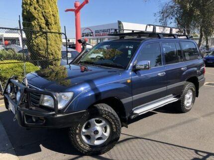 2002 Toyota Landcruiser UZJ100R GXL Blue 5 Speed Automatic Wagon Seaford Frankston Area Preview