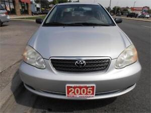 2005 Toyota Corolla  One owner No accident Grey Only146,000km