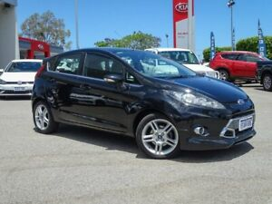 2012 Ford Fiesta WT Zetec PwrShift Black 6 Speed Sports Automatic Dual Clutch Hatchback Morley Bayswater Area Preview