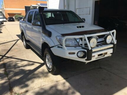 2008 Toyota Hilux White Utility Hermit Park Townsville City Preview