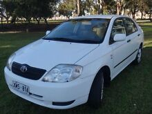 2003 Toyota Corolla ZZE122R Ascent White 4 Speed Automatic Sedan Albert Park Charles Sturt Area Preview