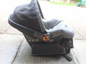 Peg Perego Baby carrier and base - great condition