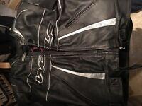 Wolf Motorbike Leather Jacket