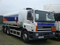 2001 Daf CF75 6x2 19000L Tanker