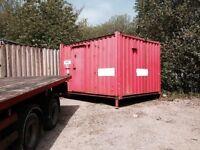 12' x 9' Steel Toilet Cabin (2+1)