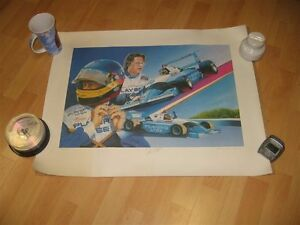 Collection Villeneuve  player's course lithographie