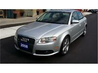 2008 Audi A 4 (S-LINE)-QUATTRO-CERTIFIED & E TESTED-WE FINANCE