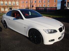 08 BMW 320i M SPORT 170 BHP COUPE RED LEATHER HEATED SEATS