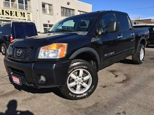 2008 Nissan Titan PRO-4X OFF ROAD 4x4 **LEATHER-ROOF-TONNEAU**