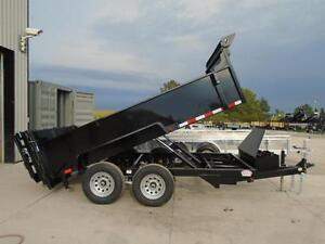 ALL PURPOSE DUMP TRAILER 6 X 12 5 TON WITH COMBO GATE QUALITY London Ontario image 5