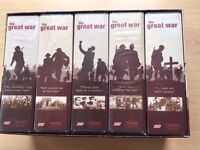 The Great War Series in VHS
